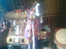大東島のお神輿